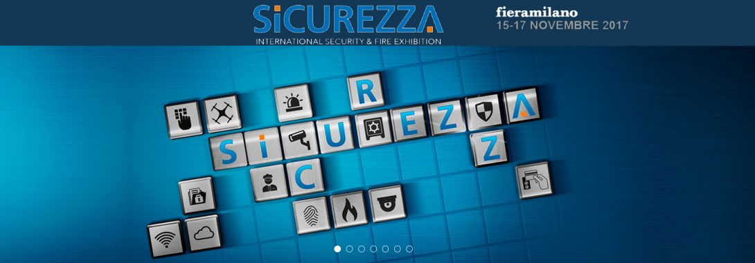Sinapptica vi aspetta a Sicurezza 2017 a Milano RHO Fiera
